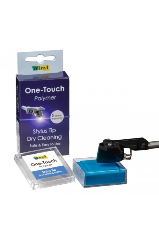 One-Touch Polymer Solid Stylus Cleaner