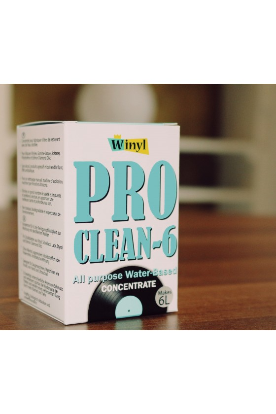 Pro Clean-6 Concentrate Water Based - 6 litres