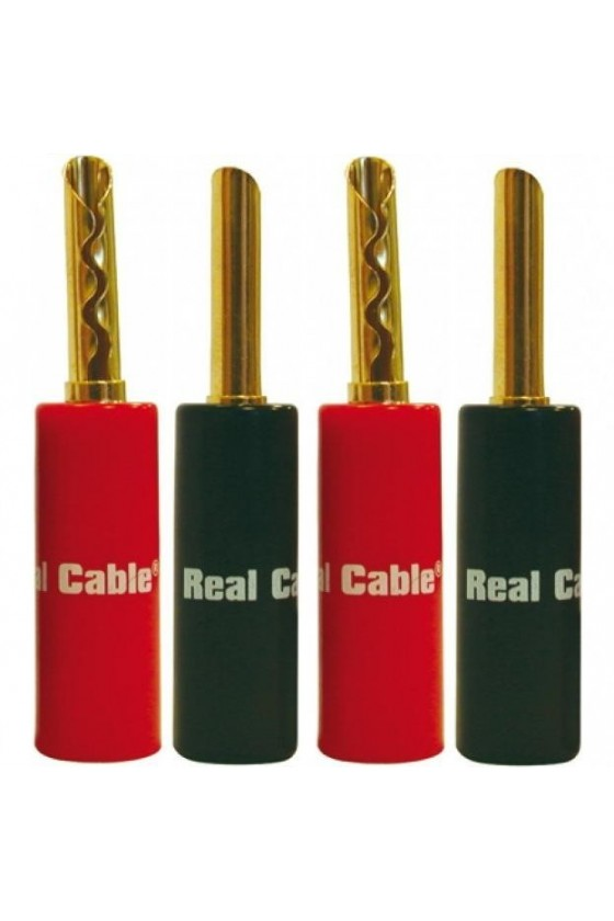 Real Cable BFA6020-2C/4PCS ( 4 Bananas)