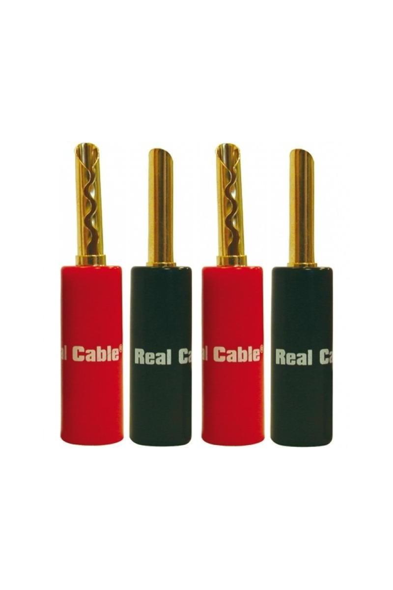 Real Cable BFA6020-2C/4PCS ( 4 Bananas)