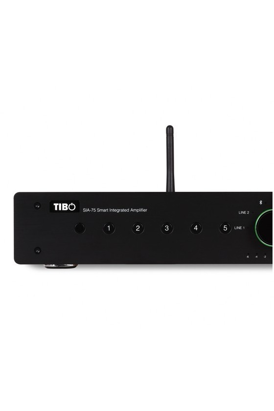 Amplificador Integrado Streaming WiFi Tibo SIA 75 preto