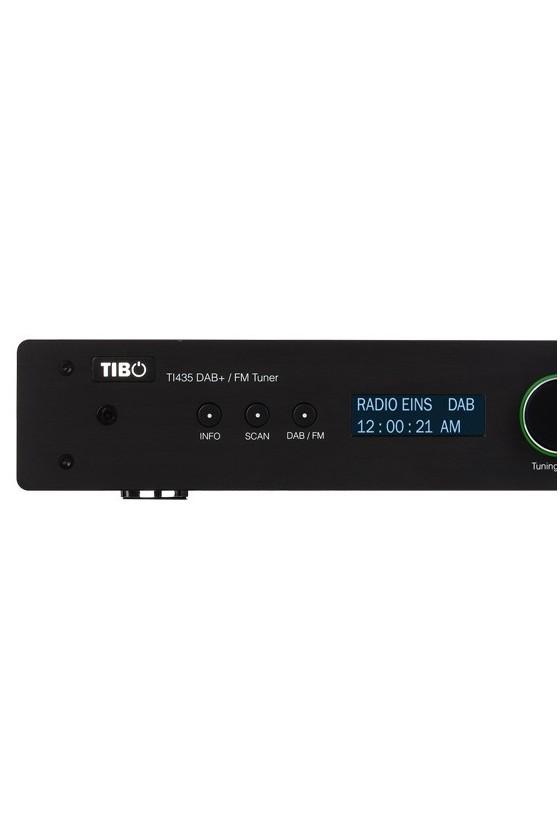 Sintonizador AM/FM Tibo TI 435 DAB preto