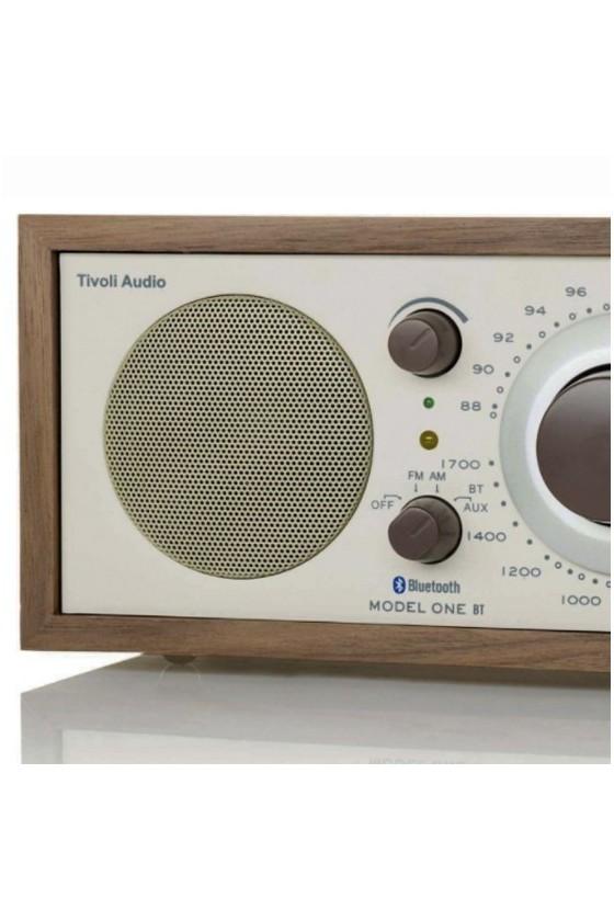 Rádio de mesa FM/AM c/ Bluetooth Tivoli Audio MODEL ONE BT beije/classic walnut