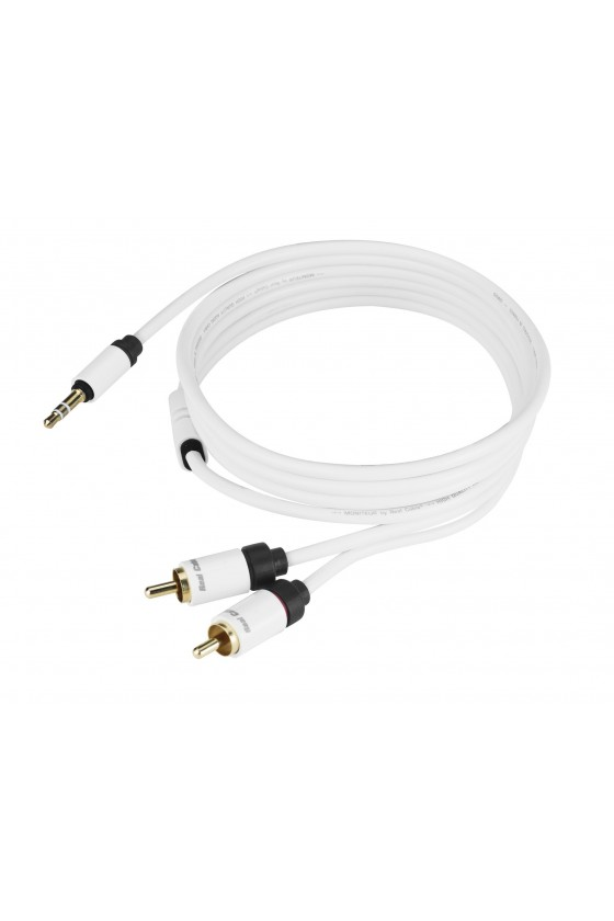 Cabo Jack 3,5mm/RCA Stereo - Real Cable JRCA-1
