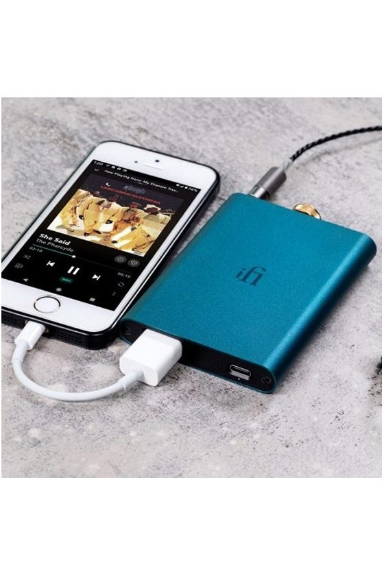 iFi HIP-DAC - Mini DAC c/ Amp de Auscultadores
