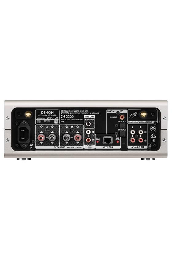 Denon DRA-100 Sistema Streaming com Amplificação