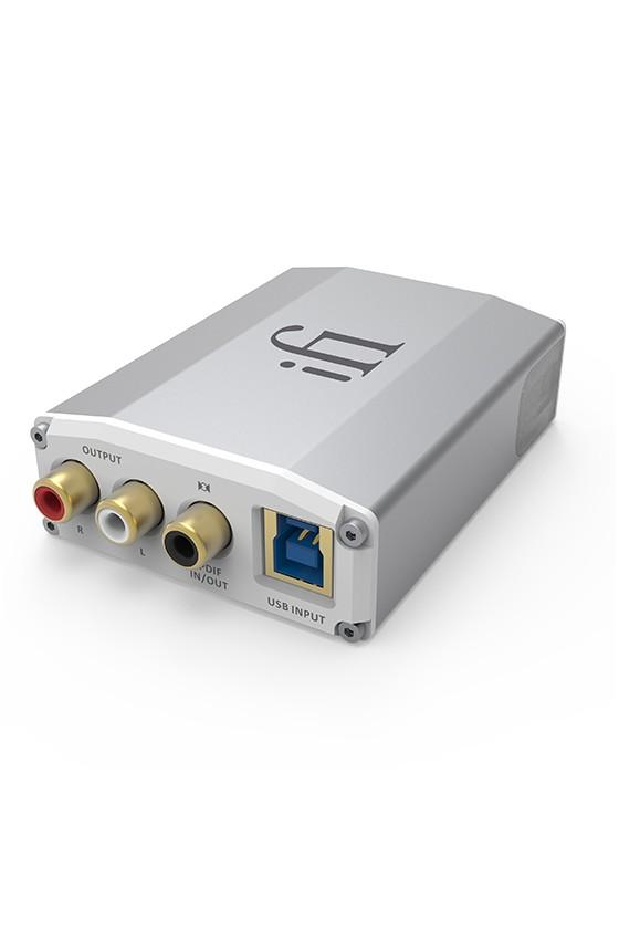 iFi nano iONE, DAC DSD com Bluetooth e entradas Spdif