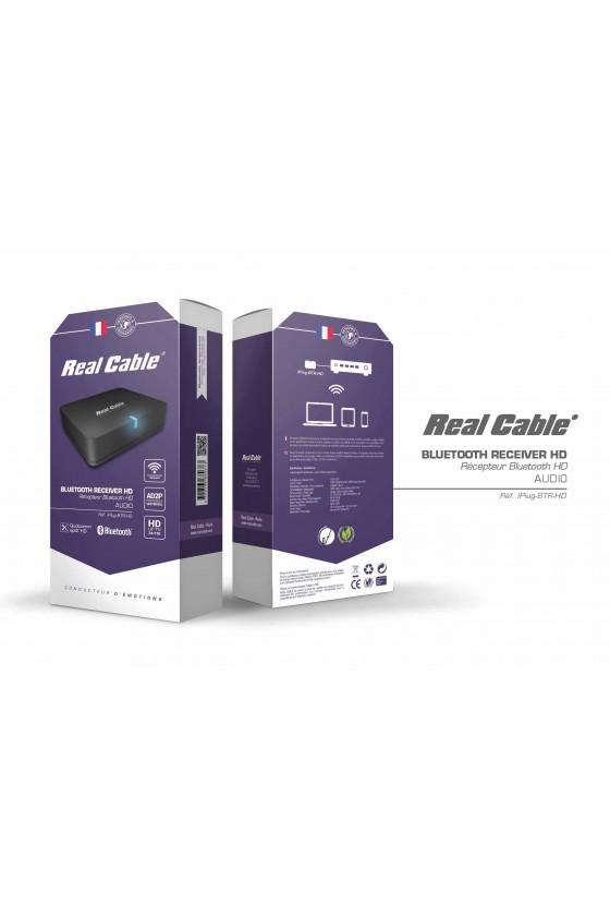 Real Cable - IPLUG BTR HD Recetor de Bluetooth