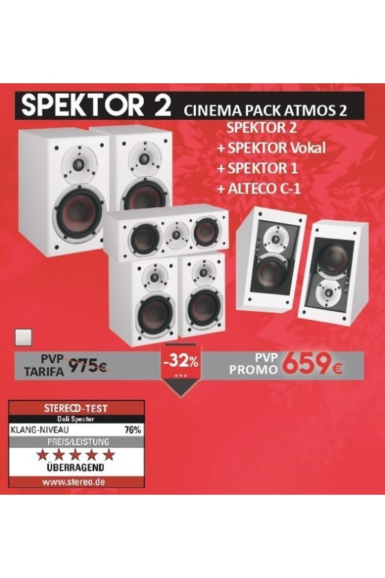 DALI Spektor 2 Cinema Pack Atmos 2