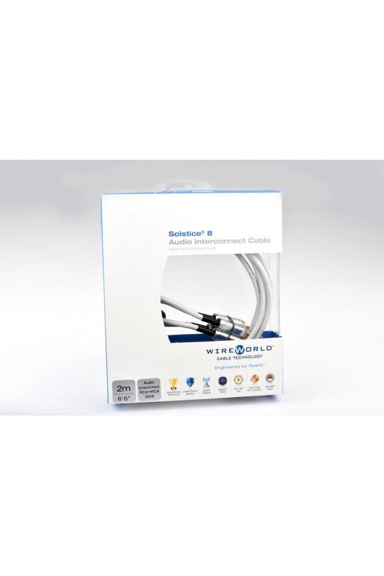 WireWorld Cabo RCA - RCA SOLSTICE® 8 (par)